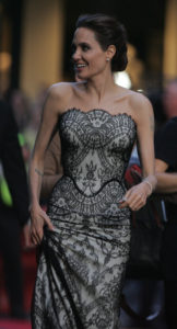 Angelina Jolie's recovery from Bell's Palsy due to acupuncture