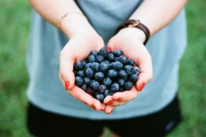 Superfoods such as blueberries can help the holistic health of diabetic clients.