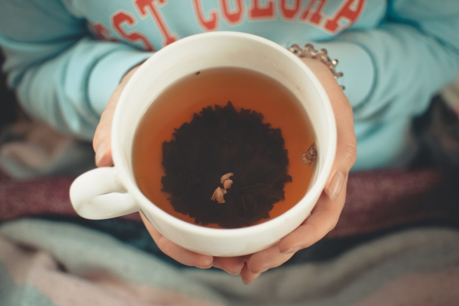 Tea is a natural health tip to destress.