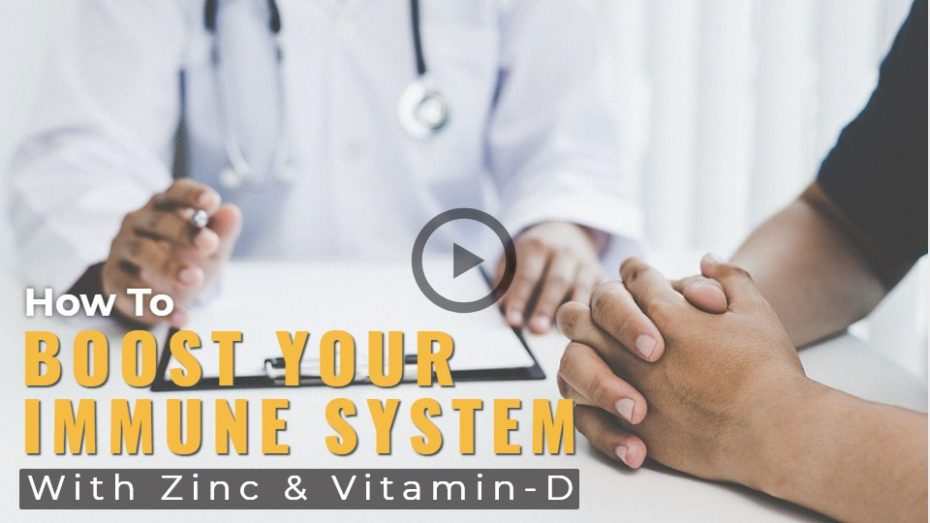 Using natural medicine to boost your immune system.