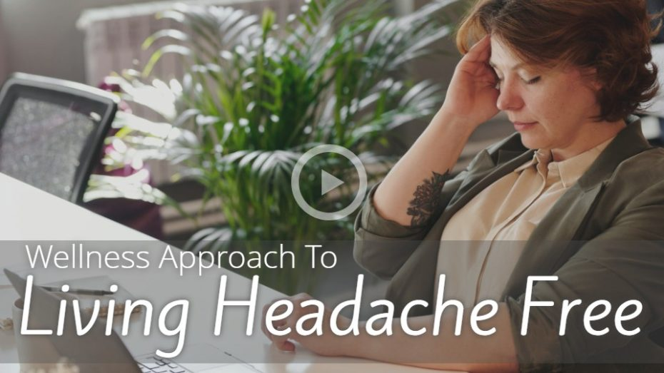 Natural medicine for living headache free.