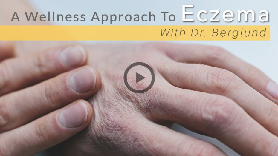 Natural wellness medicine to treat eczema.
