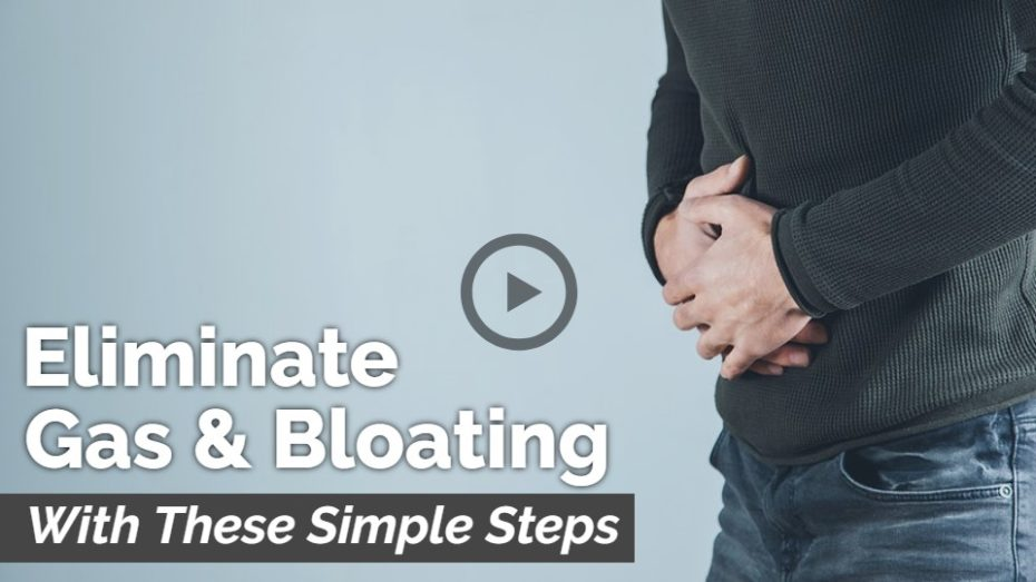 Holistic health treatment options for gas and bloating.