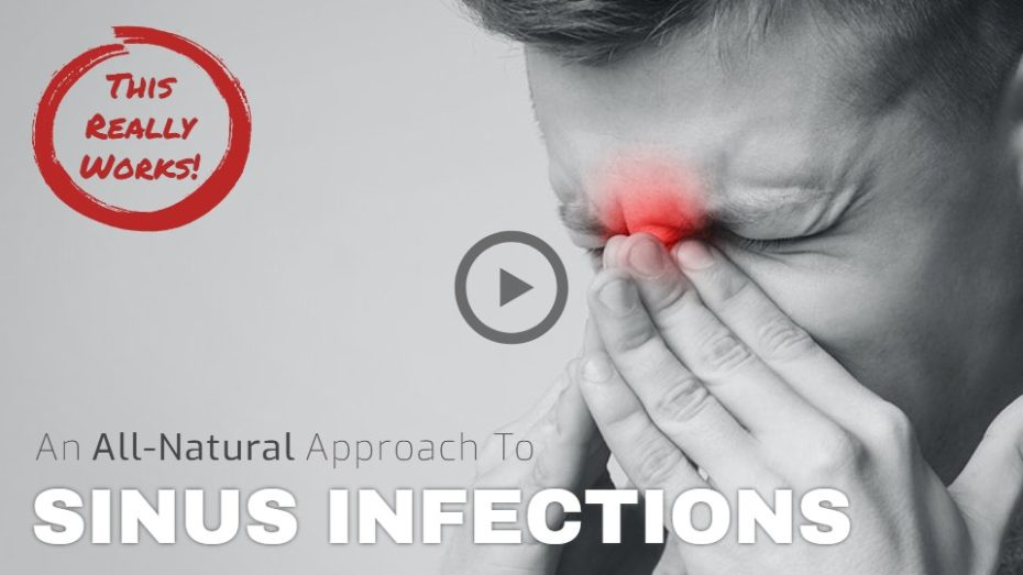 Natural health options for sinus infections.